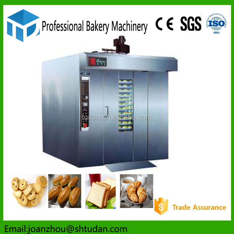 Save time easy opeation commercial rotary oven/pita bread bakery machine/used baking bread gas oven