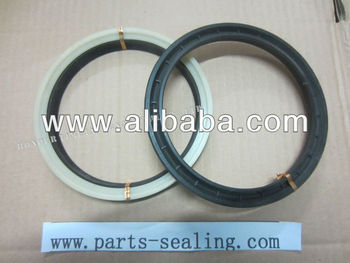 Piston seal OHM, black and white ring OHM, hydraulic seal