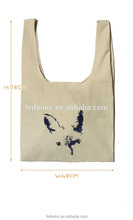 Large and practical handle style CANVAS shopping bags