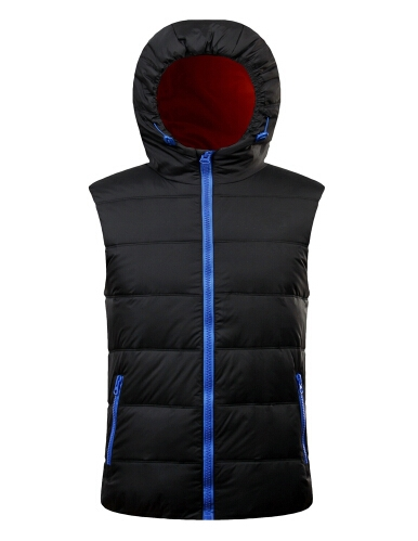 HOT SALE 2015 new winter down vest hooded vest mixed colors Slim male outdoor down vest male Waistcoat #78546