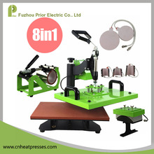 Prior HP8IN1Multifunction T Shirt Heat Press Machine 8in1 For Mug Printing