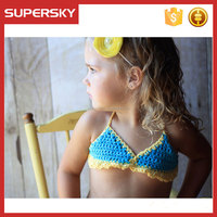 H-657 High Quality Plus Size XXL Sexy Baby Girls Bikini indian beach mini girls bikini with photos