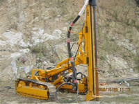 Mineral anchor bolt drilling rig equipment