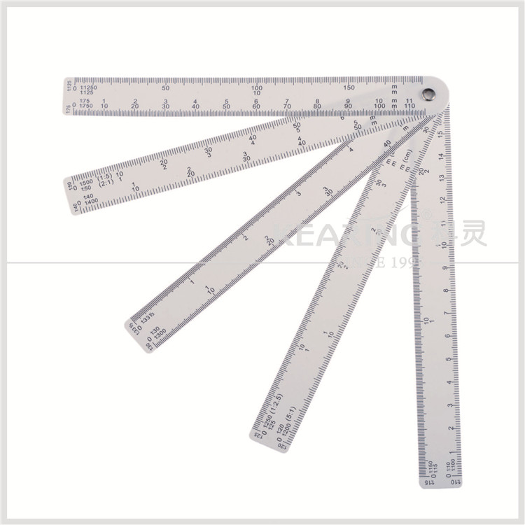 kearing engineering scale ruler/ruler with 10 different scales