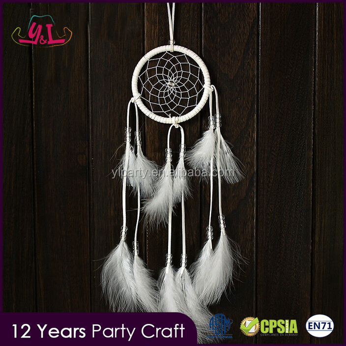 Popular 2016 hot sell dream catcher feather decoration for door and car