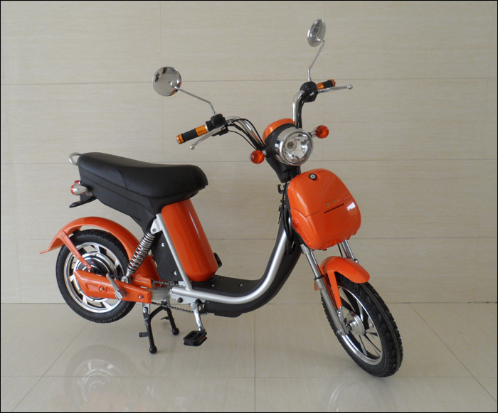 16' New Small Chinese Cheap 48V Pedal Electric Moped For Sale