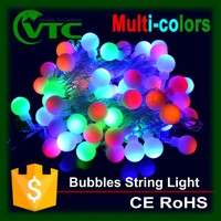Novelty White Ball LED strings Christmas Lights fairy wedding garden pendant garland Decorative