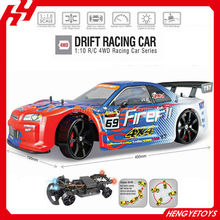 PVC Shell body 4WD rc drift car 1:10 rc 4WD racing car with light BT-000540