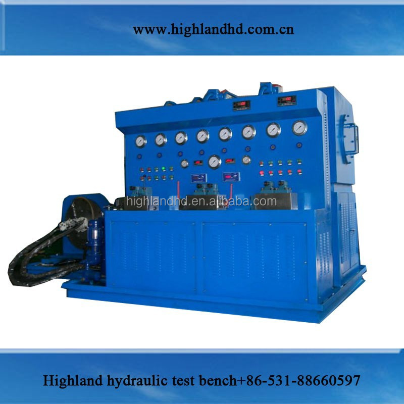 Highland for repair factory electic motor skydrol hydraulic test stand