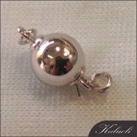 Factory direct sales 14k gold round ball clasp
