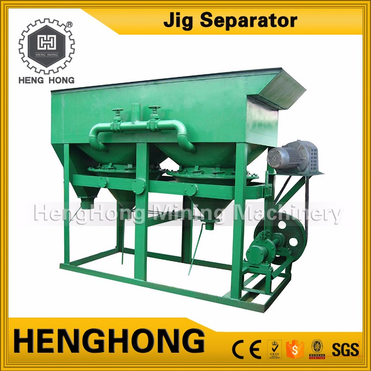 Henghong mining iron ore process for sale jigger used for separating titanium
