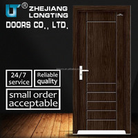 Flush Carved Interior MDF PVC Door Made In China LTP-207