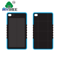 Mytree Waterproof Power Bank 8000mAh Dual USB Portable Solar Charger For Universal