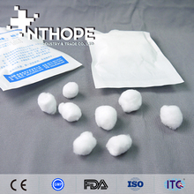 medical sterile products mini dental cotton ball and swab holder