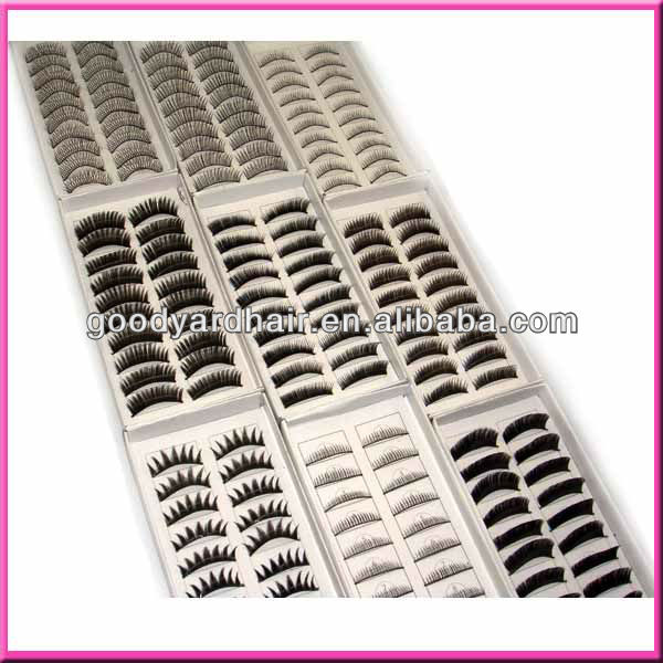 cheap silk natural looking belle false wholesale top good quality korea beautiful synthetic fiber eyelash