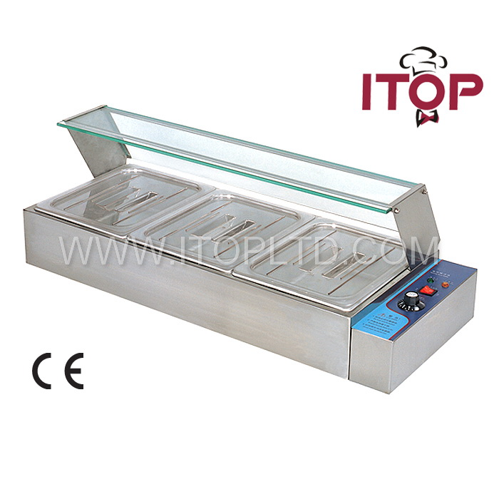 Commercial Electric bain marie cooking equipment/bain marie food warmer