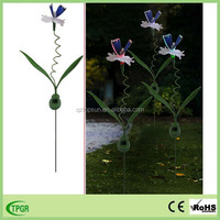 Garden ornament schmetterling solar lamp wholesale with cheap price