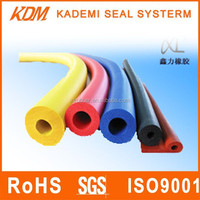 EPDM soft rubber tubes for industry rubber foam insulation tube: colored, weatherproof, heatresistance, EX-factory price