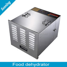 Stainless steel professional food dehydrator/fruit dehydrator with 10 trays