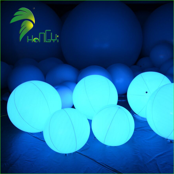 Hot Sale PVC Inflatable LED Light Ball for Christmas Ornament