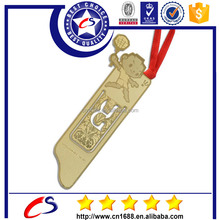 New Idea Promotional Metal Bookmark Brushed Metal Clip for bookmark
