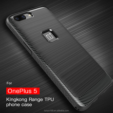 2017 New brushed crash proof TPU CASE for ONEPLUS 5 private mould tool case for ONEPLUS5 Koolife Kingkong