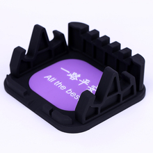 Promotion item non slip silicone car mat mobile holder sticky, car accessories interior manufacturer