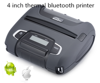 4 inch mini thermal usb bluetooth thermal receipt label printer Woosim WSP-I450 for smartphone