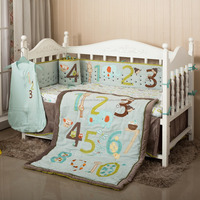2016 new design bedding set comfortable soft baby crib bedding set