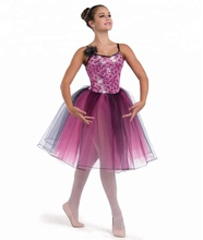Hot new balletto costume adulto costume di ballo delle ragazze occidentale di usura di ballo