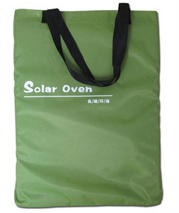 collapsible portable travel solar cooker bag for outdoor