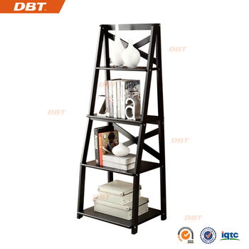 DBT 4-TIERS Wall Ladder shelf / bookcase use for livingroom
