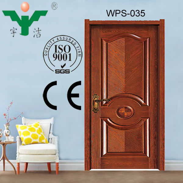 solid wood interior french door WPS-035