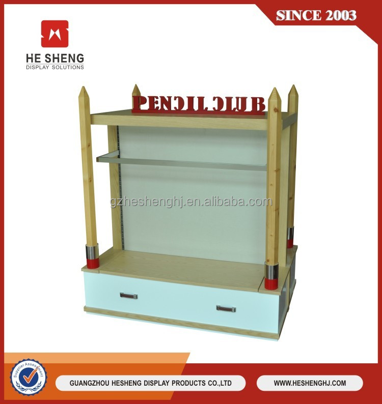 Modern clothing display fabric store equipment for clothing stores