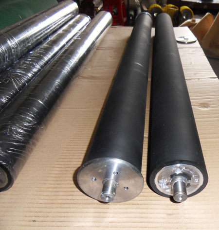 pu coated roller