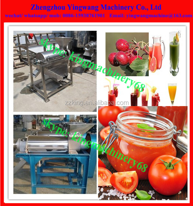 single channel fruit vegetable beating machine