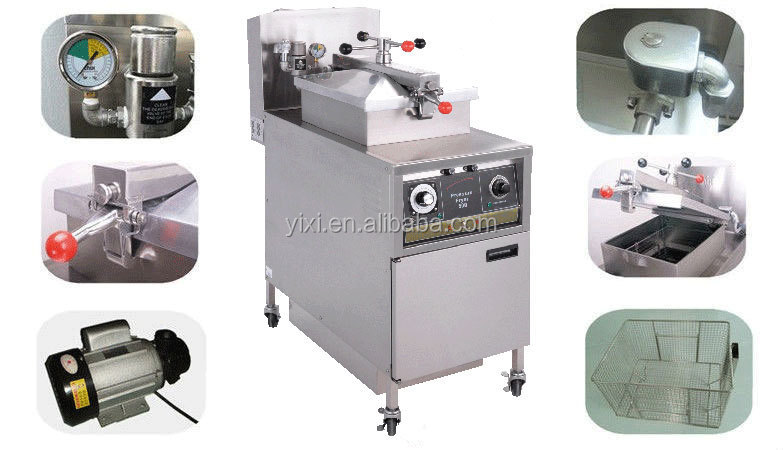 Potato Chips Making Machine,Chips Fryers, Broasted Machine