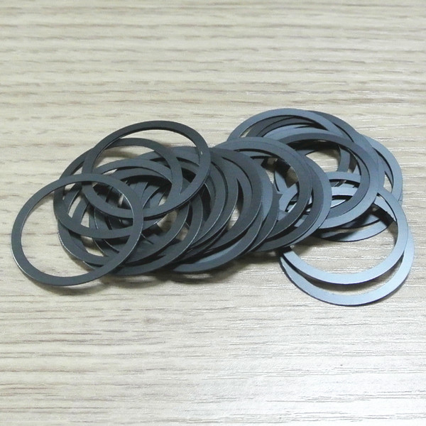 DLSEALS custom high quality PA flat washers/gaskets(carbon filled)
