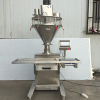 Semiautomatic Auger Powder Filler Filling Machine