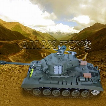 rb-3838-1 1:16 RC Tank - Snow Leopard - USA M26, with smoking lights and engin sound,model tank,r/c tank