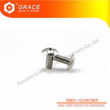 Stainless Stainless Cross Recessed Mushroom Big Head Screws For Metal Bunk Beds
