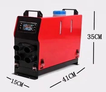 Hot sale portable 12 volt 5KW Car Truck home  integrated portable warm remote air heater