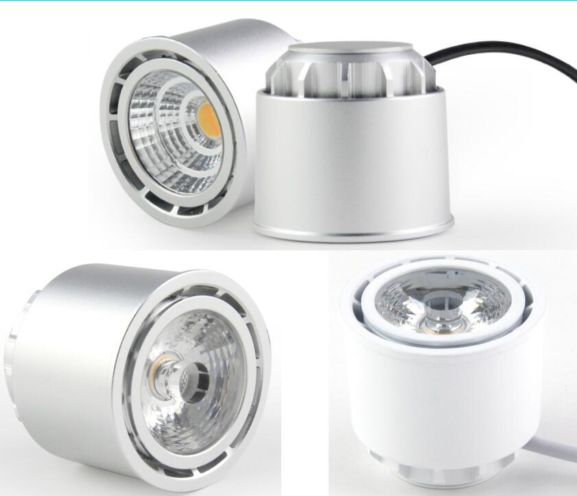 Bridgelux cob Led spotlight with reflector dim to warm 2000-2800k CCT with 83mm cutout dimmable 83mm cut hole