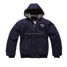 Insulated Hooded Flame Resistant Jacket