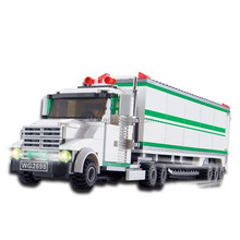 WANGE Children Toys Wholesale Cheap Freezing Truck building blocks