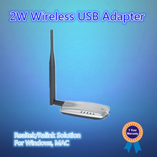 High Power Wireless USB LAN card with external antenna, function same as PCI network card but can work with laptop also