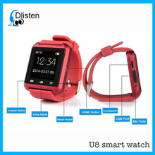 2017 Cheap Smart Watch U8 Woman/Man Sport Bluetooth Smartwatch Fitness Tracker for Android IOS Smart Watch