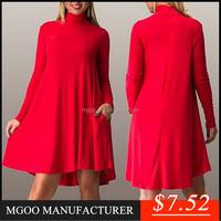 MGOO custom dress manufacturers Wholesale summer casual dress women daily wear dress L-6XL Z1060