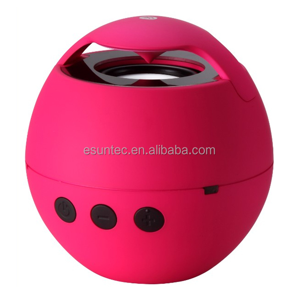 China made portable speaker ball shape wireless portable bluetooth speaker, BTS-07