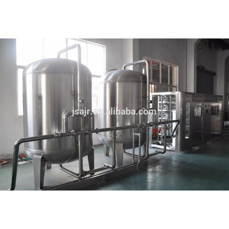 Angel hot sale 10000 liter high desalt rate RO water treatment for chemical industry
